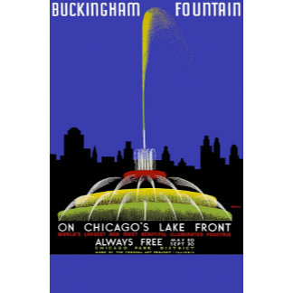 Buckingham Fountain On Chicago's Lake Front