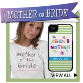 Mother of the Bride T-shirts, Personalized Gifts