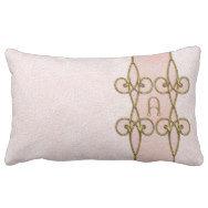 Elegant Monogram On Art Deco Lily Ornamental Belt