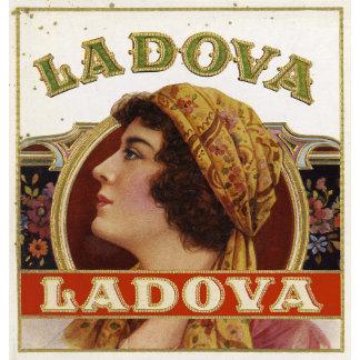 """La Dova Woman with Scarf Poster Print"""