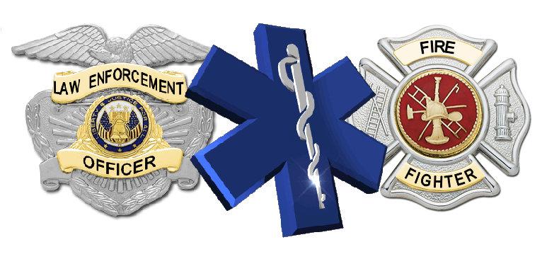 Law Enforcement, Security, Fire, EMS