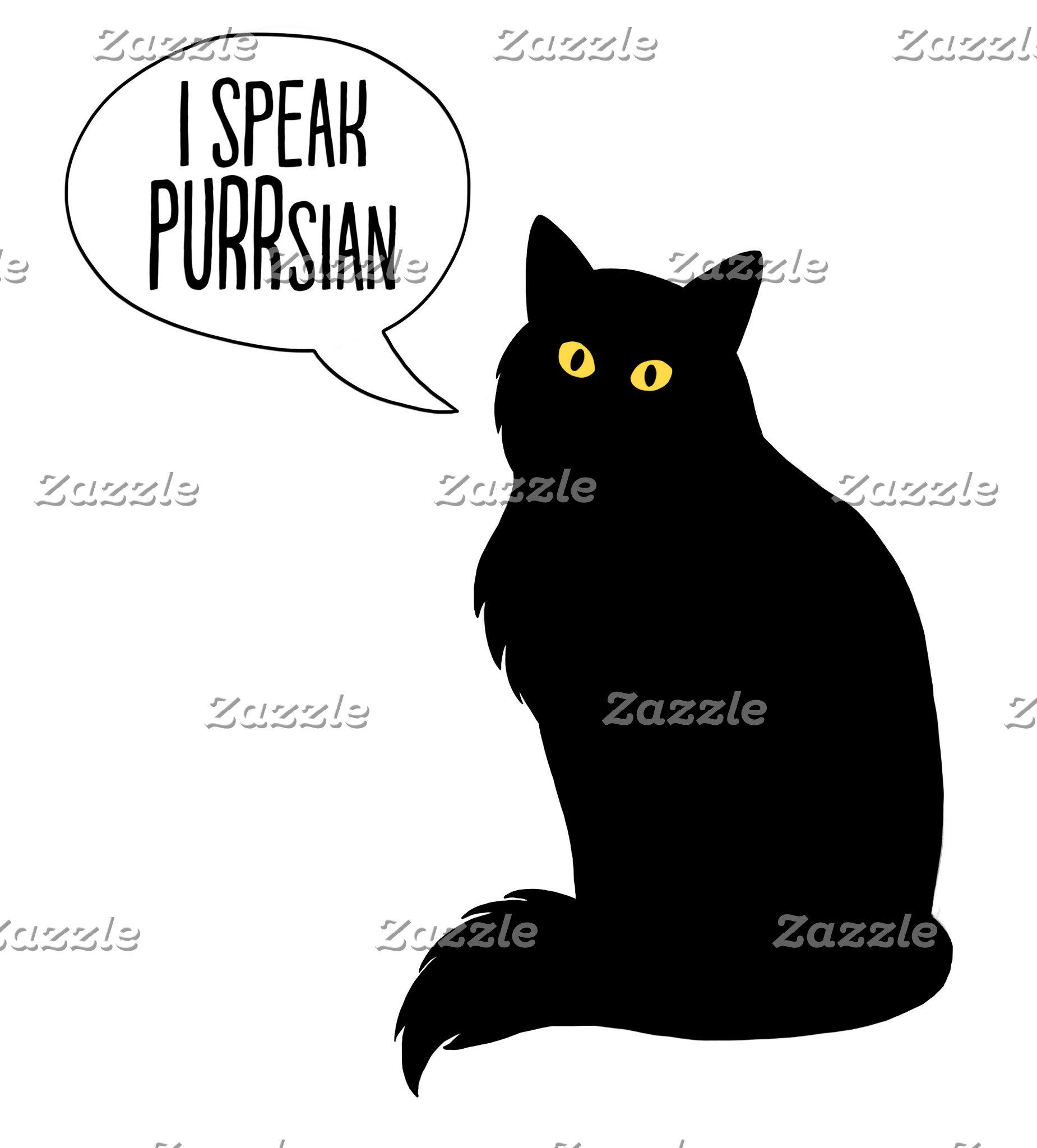 Cats Speak PURRsian