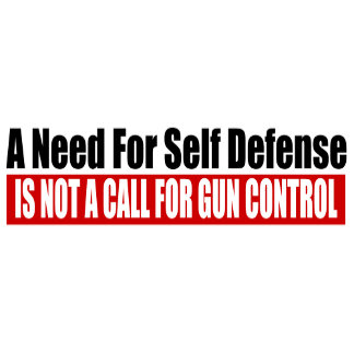 A Need For Self Defense