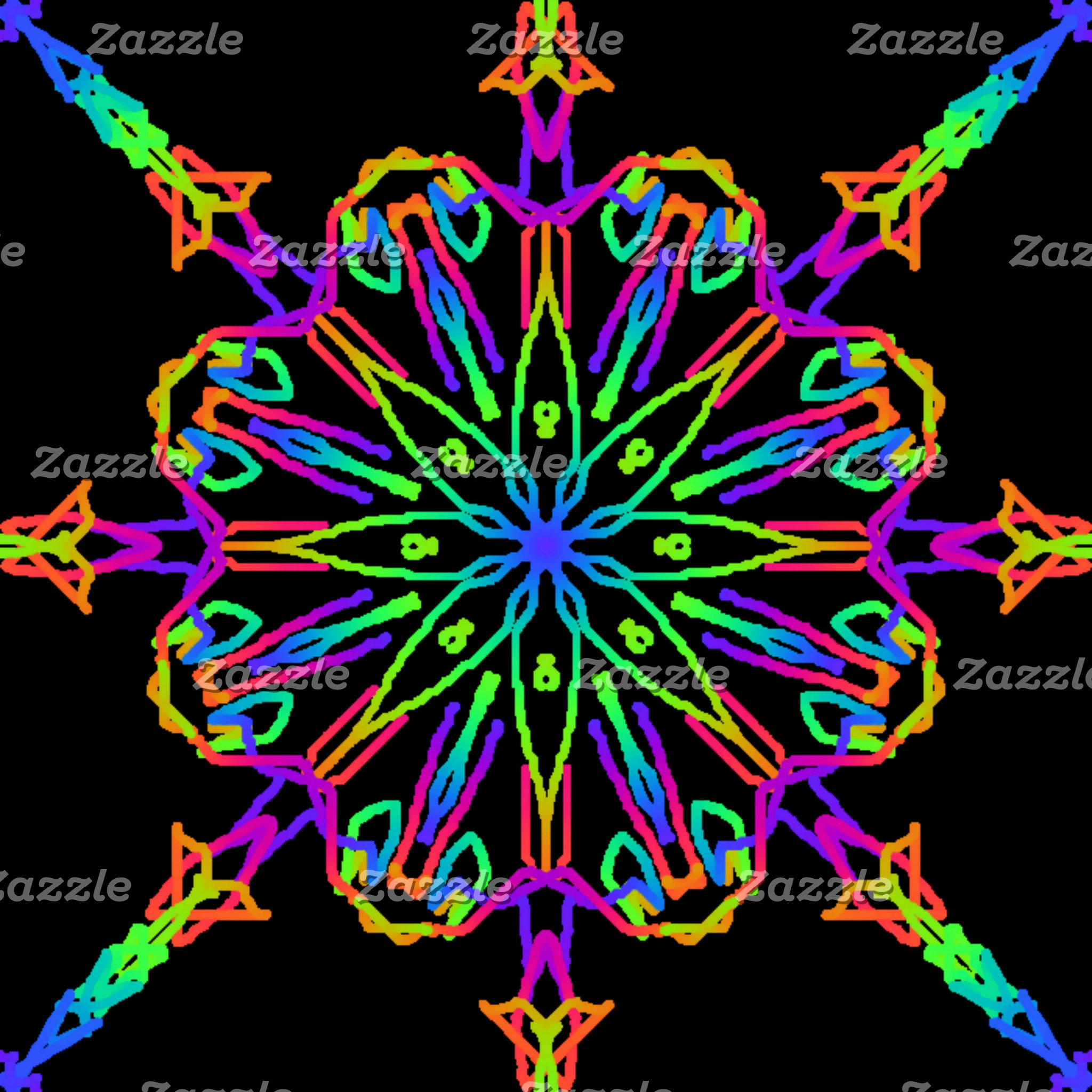 Brightly Colored Kaleidoscope