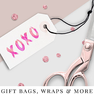 GIFT BAGS, WRAPS & MORE