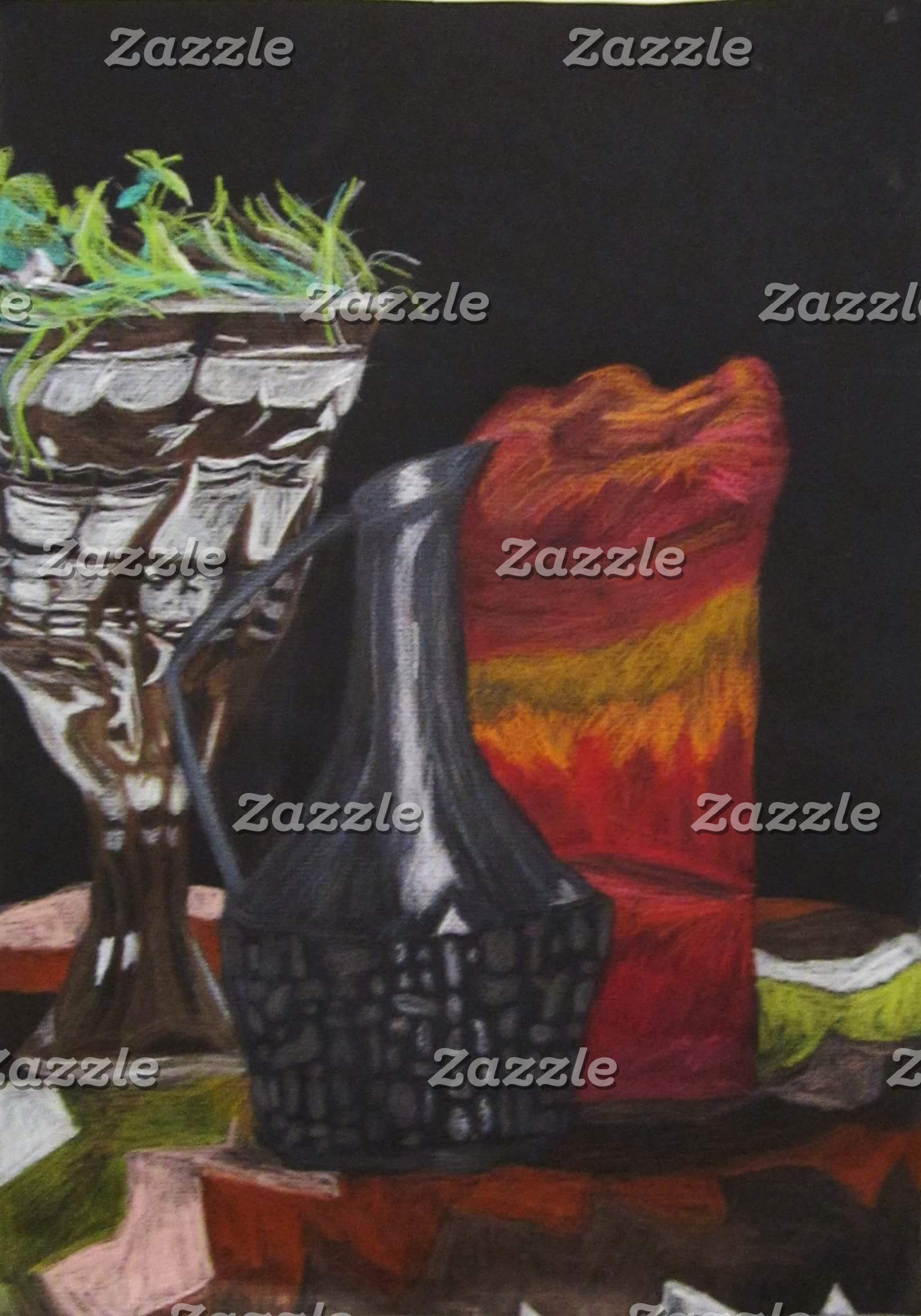 """""""Candle and Carafe Still Life"""""""