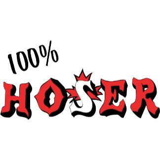 100% Hoser T-Shirt Gifts Cards