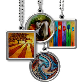 Unique Art Necklaces