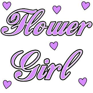 Wedding Hearts Flower Girl