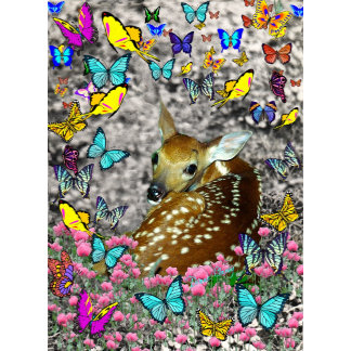 Bambina the Fawn in Butterflies