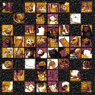 Grid of Cats