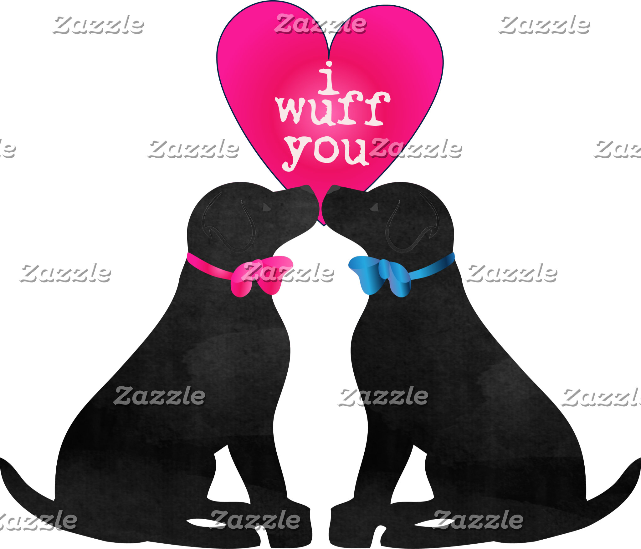 Valentine Black Labs
