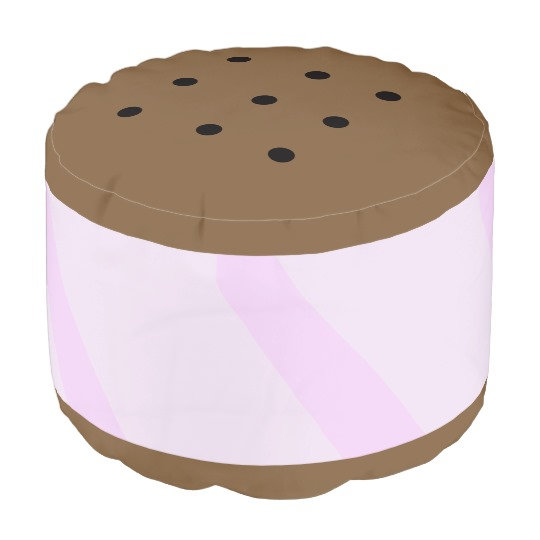 Round Poufs