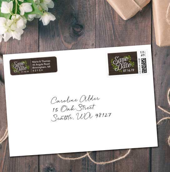 Postage & Return Address