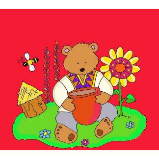 Honey Bear Ukrainian Folk Art