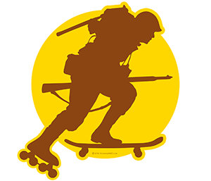 Skating WWII