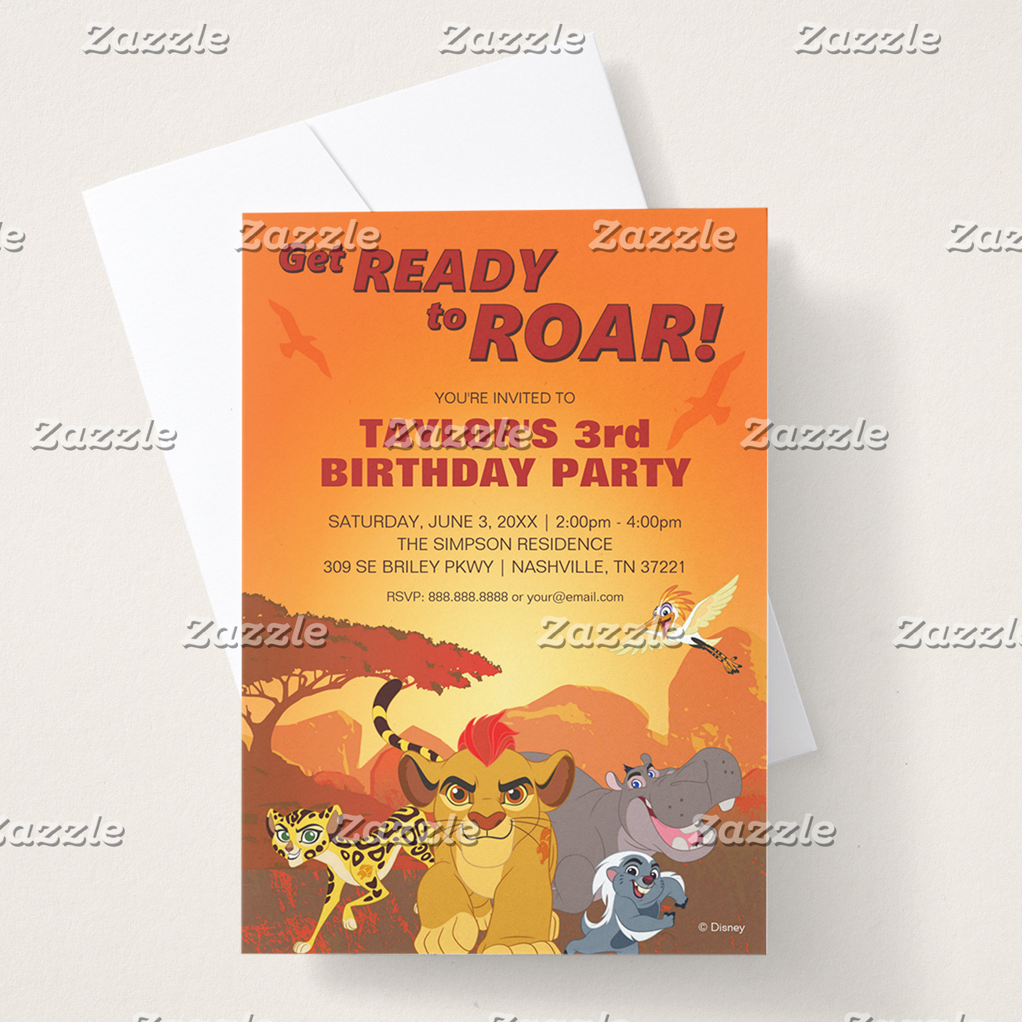 Lion Guard Birthday