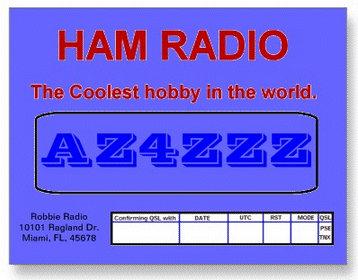 Ham QSL Cards