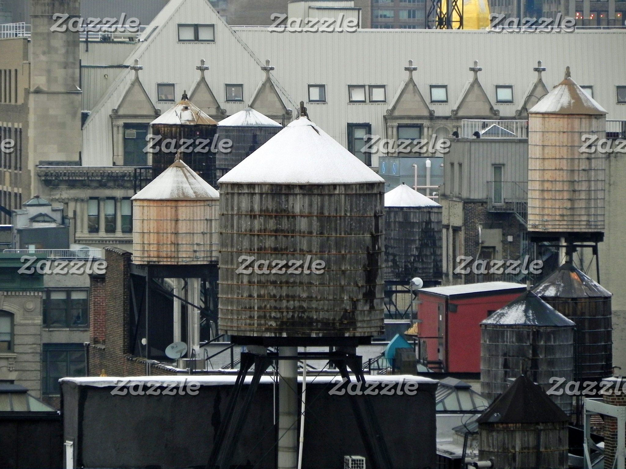 NYC Water Towers