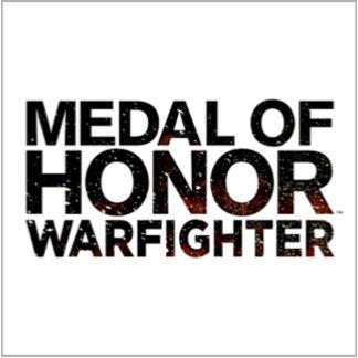 Medal of Honor Warfighter Dark Logo Stacked