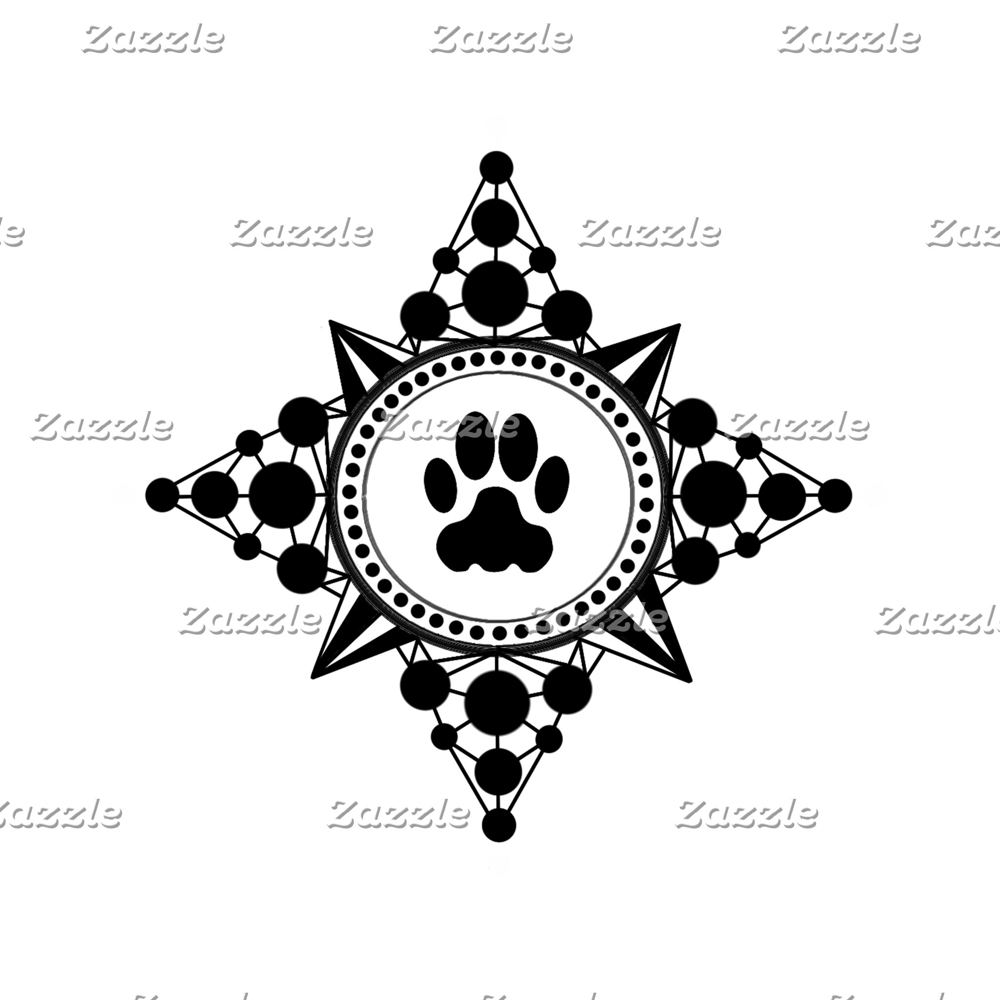 Paw Compass Rose Stuff