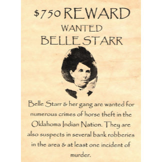 Belle Starr Wanted