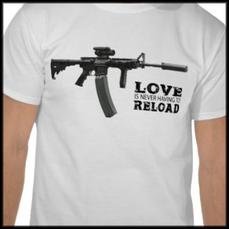 Love Is Never Having To Reload AR15