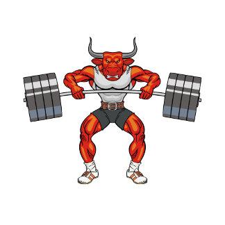bull weight lifting