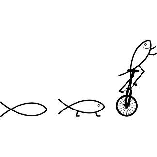 Ichthys Christian / Jesus Fish Symbol Hobbies