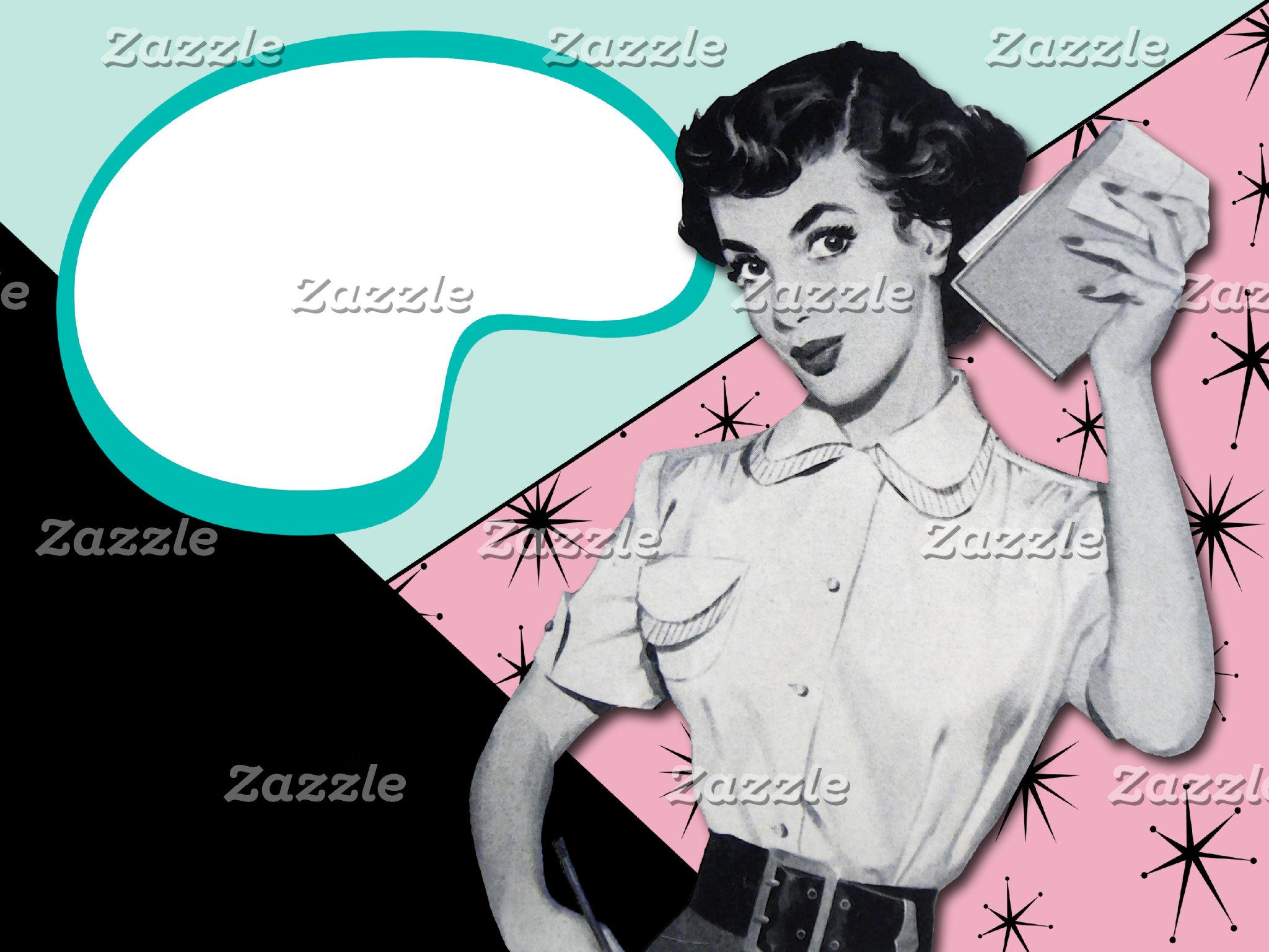Vintage Sassy Secretary