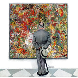 Art Connoisseur by Norman Rockwell