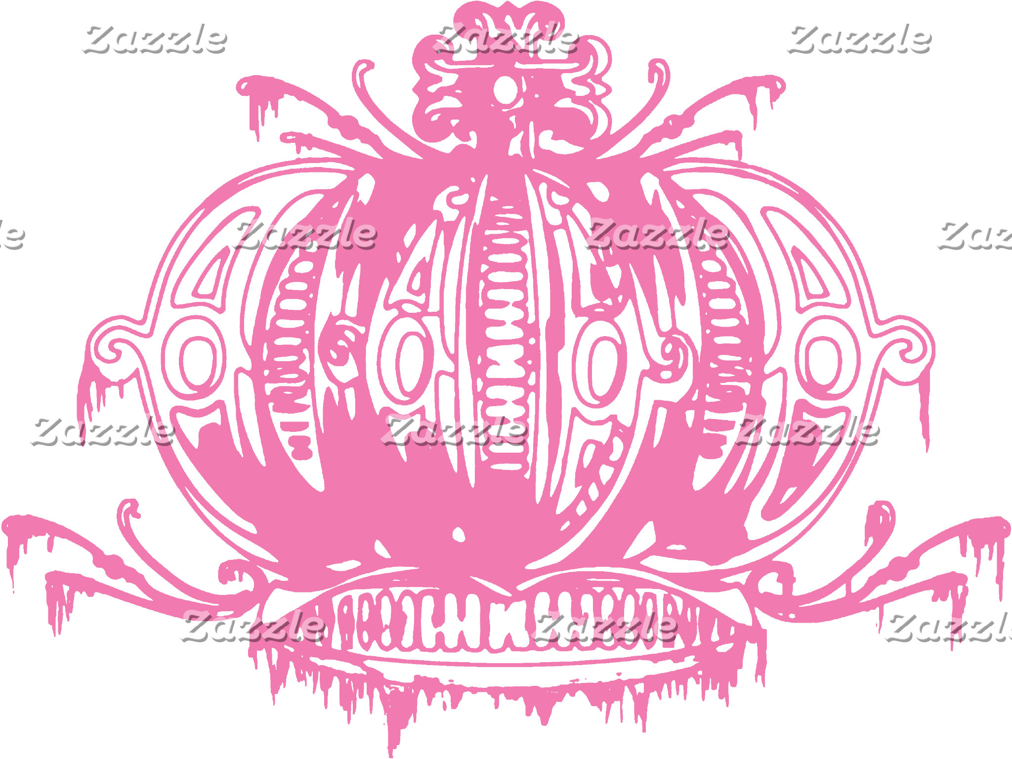 Gothic Lolita Pink Decayed Crown