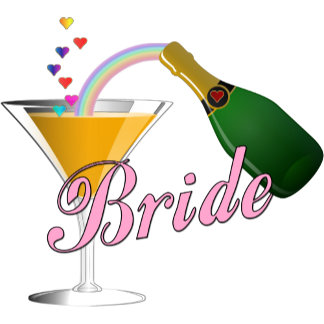 Champagne Toast Bride Pink