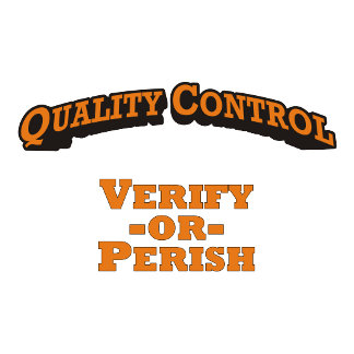 Quality Control / Verify