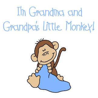 Grandma and Grandpa's Monkey - Blue