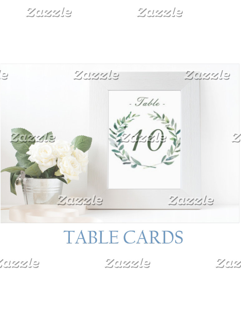 Table Cards