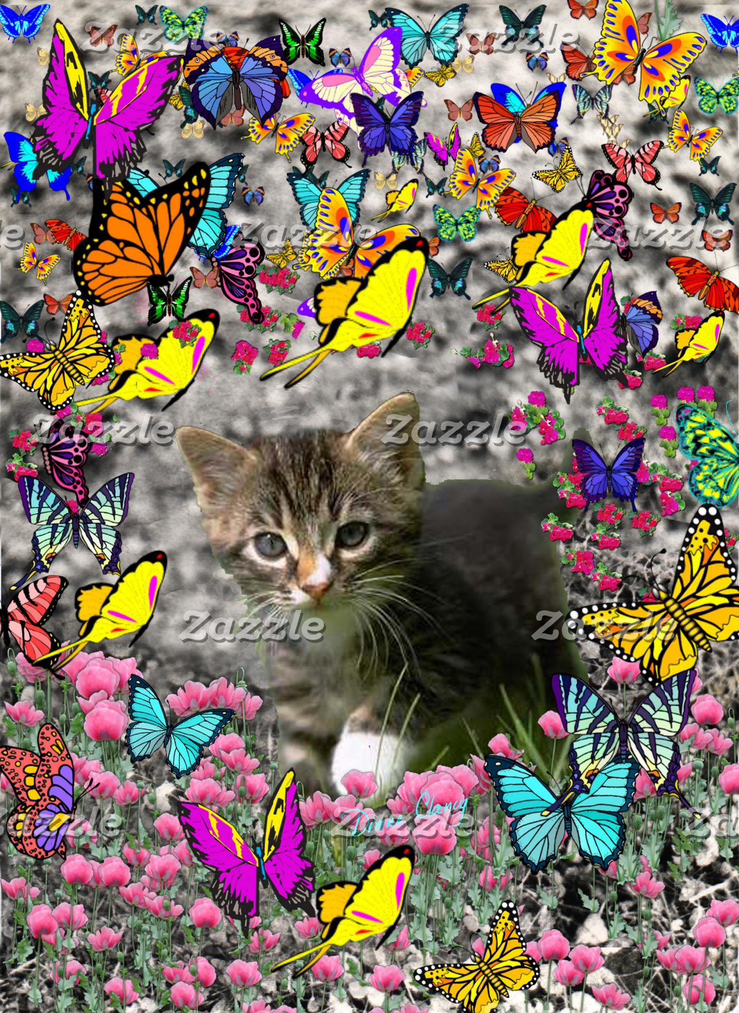 Emma in Butterflies I