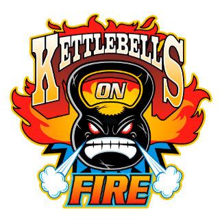 Kettlebells on fire