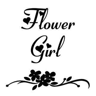 A Classic Flower Girl