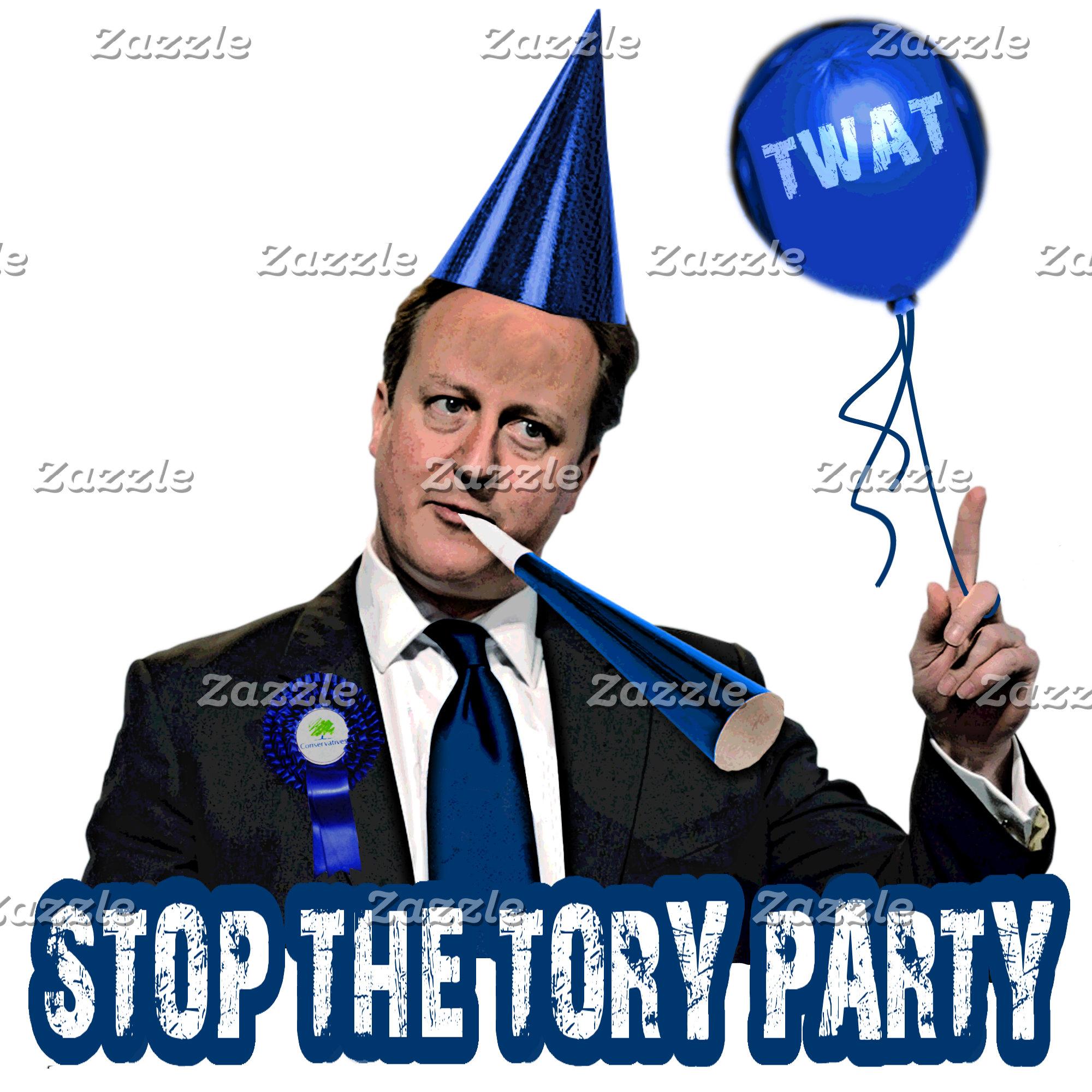 Anti Tory 2015 UK election Tees