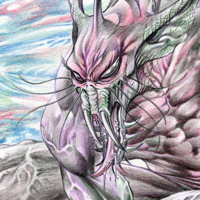 Aliens, Monsters and Demons Art