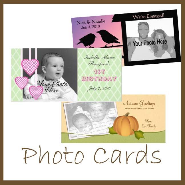 Photo Card Announcements