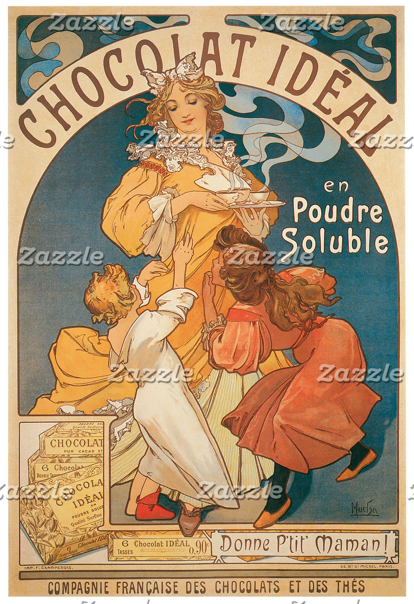 Vintage Foods Posters