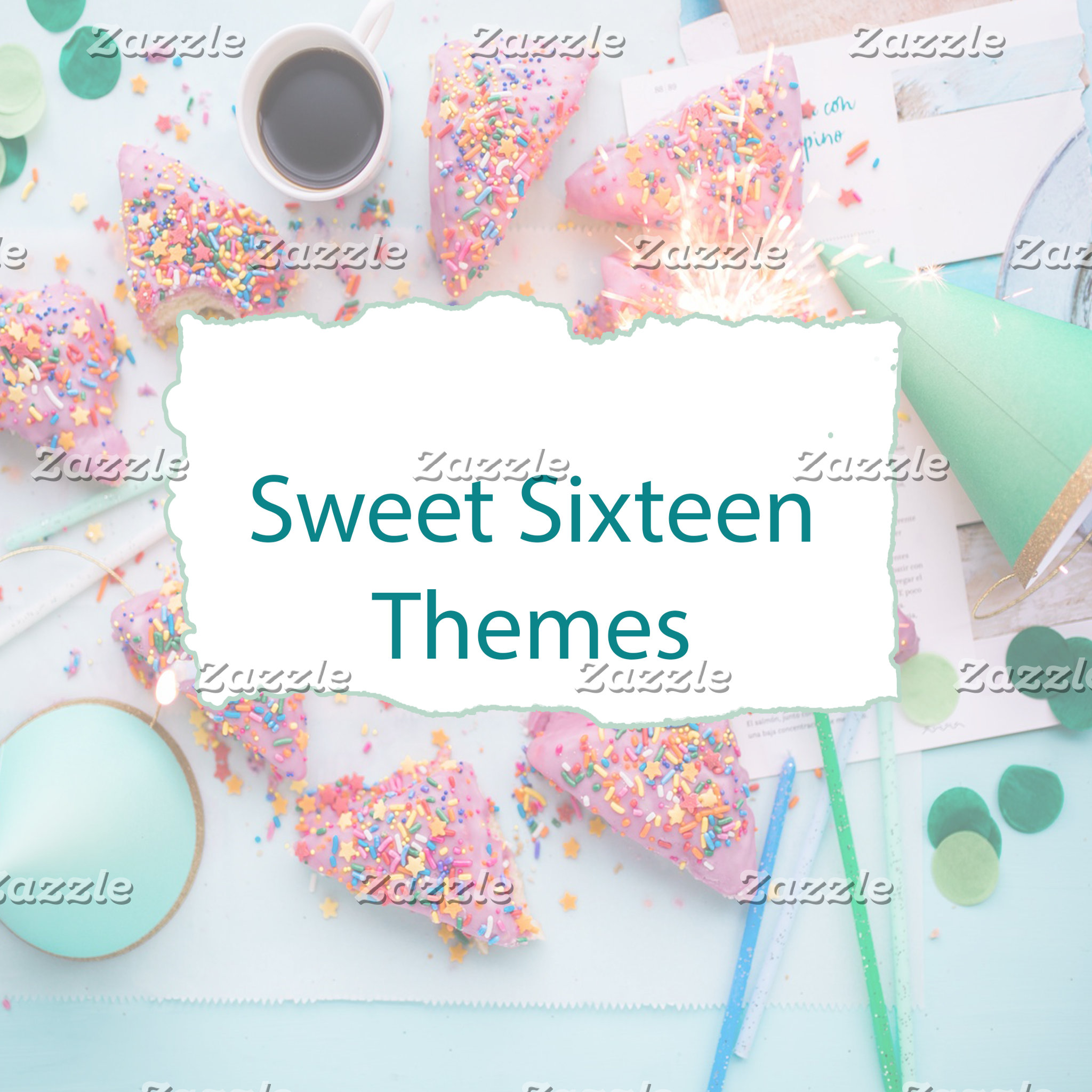 Sweet Sixteen Themes