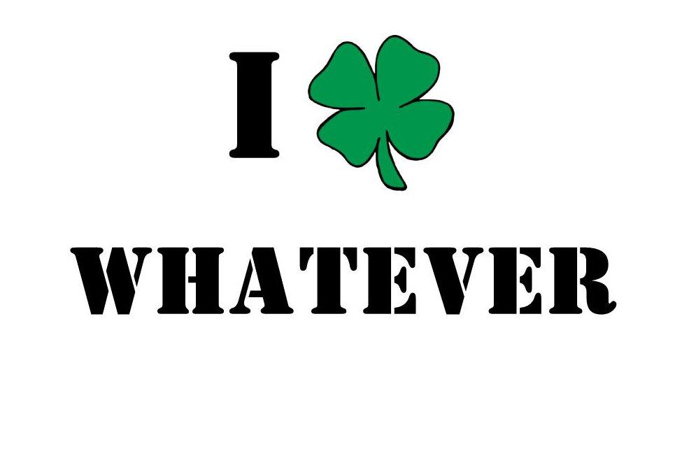 Personalized Irish I Shamrock T-Shirt