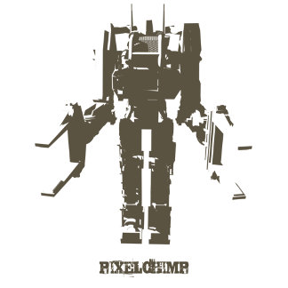Stencil Ripley Robot