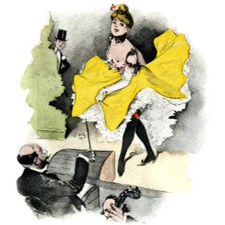 Vintage Parisian Nightlife Prints