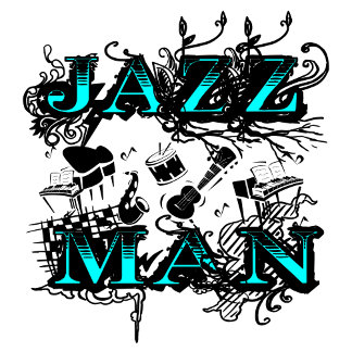 Jazz Man - cool and hip
