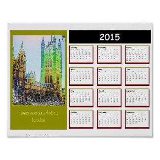 2015 London CALENDARS