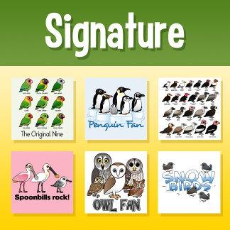 Birdorable Signature